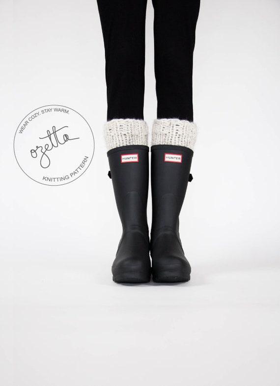 Knitting Pattern Boot Warmers Leg Warmers Boot Cuffs The