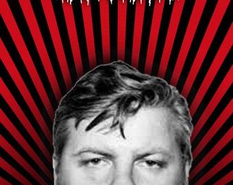 John Wayne Gacy wedding card serial killer sick goth twisted poor humor