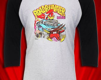 Roadrunner 1974 Hot rod Muscle car Jersey FREE SHIPPING