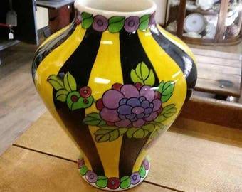 Boch Freres Art Nouveau Vase