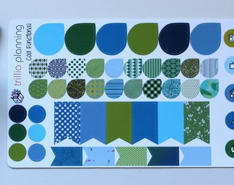 Blue and Green Functional Sheet