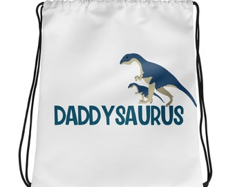 Father's Day Drawstring bag