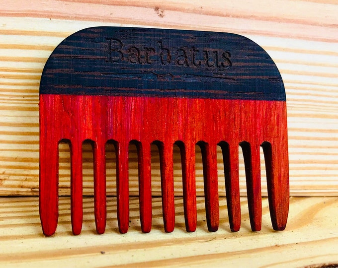 Featured listing image: Wooden Pocket Comb