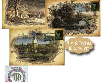 5 Country Scene Tags