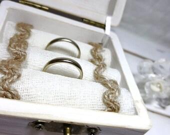 Engagement Ring Box - Engagement Ring Pillow Alternative - Ring Pillow Alternative - Engagement Ring Bearer Box - Engagement Ring Holder
