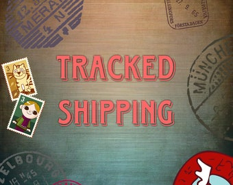 Shipping with Tracking Number.