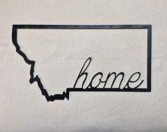 Map - Montana