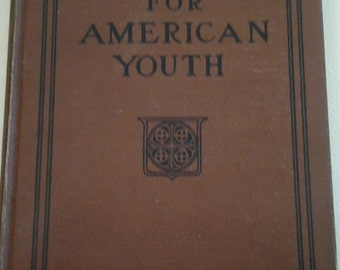 Antique Hymnal Book