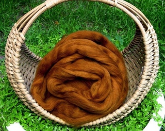 "Merino Wool Roving, ""Patina"" , 4 ounces"