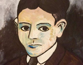 The ghost of Kafka 40cm x 40cm