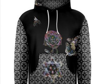 Dire Wolf  (All over print)  hoodie