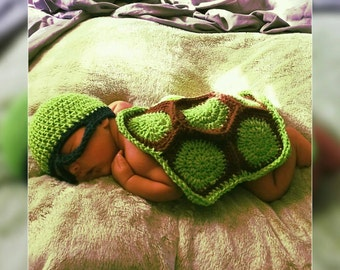 Ninja Turtle Newborn Photo Prop