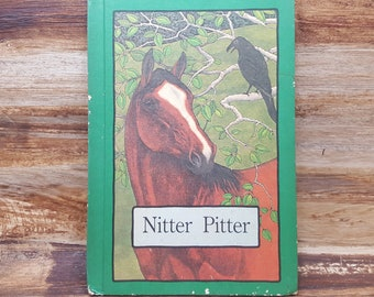 Nitter Pitter, Serendipity book Stephen Cosgrove, Robin James, 1978, hardcover, vintage kids book