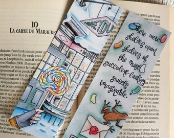 Bookmark Harry - Harry Potter, J.K. Rowling quote illustration
