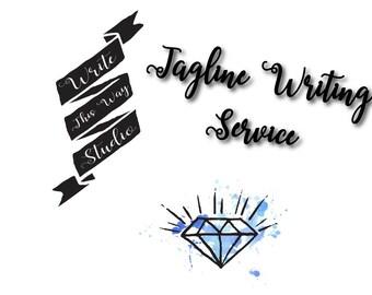 Tagline Writing Service - Business Writing Service - Write This Way Studio - - Writing Service - Custom Tagline Writing Service