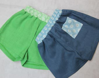 Linen Shorts with pocket