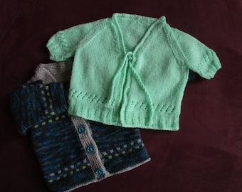 Set of two cardigans for boy