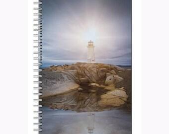Peggy's Cove Nova Scotia Notebook