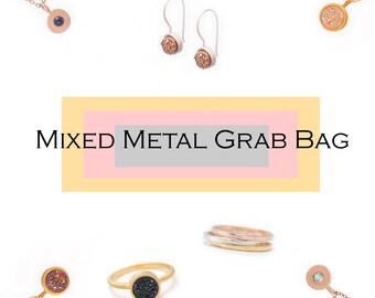 Mixed Metal Jewelry Grab Bag