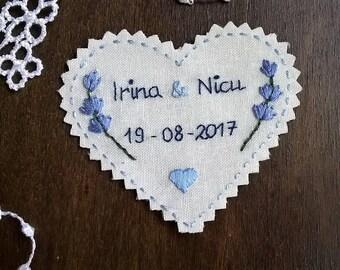 Something Blue. Wedding Dress Label. Bridal Shower Gift. Wedding Dress Patch. Gift for Bride. Bridal Shower. Wedding. Monogram Dress Label