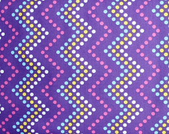 CLOSEOUT 50% OFF Zig Zag Dot Heaven & Helsinki by Patty Young for Michael Miller