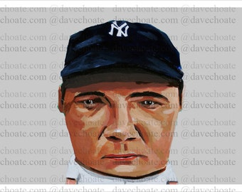 Babe Ruth, New York Yankees Photo Print