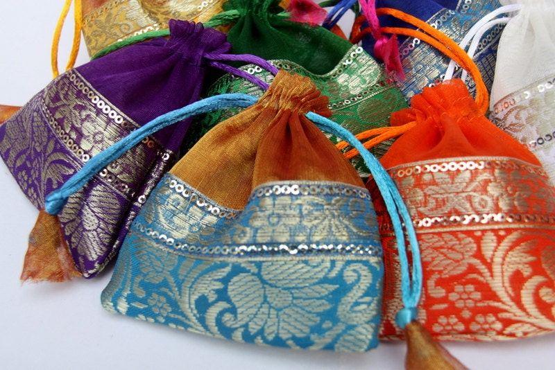 Indian Wedding Favor Bags Images - Wedding Decoration Ideas