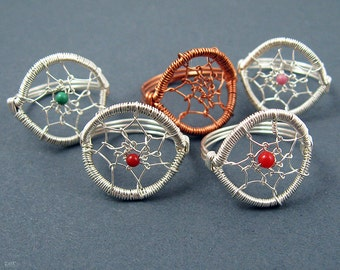 Dreamcatcher Ring Jewelry Making Tutorial