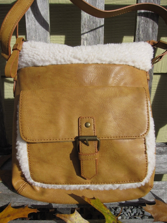 Tan Hippie Shoulder Bag
