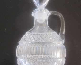 LEAD CRYSTAL PERFUME Decanter Bottle