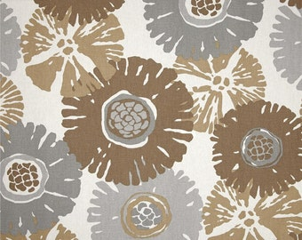 Starburst Fossil cotton fabric by the yard Magnolia Home Fashions