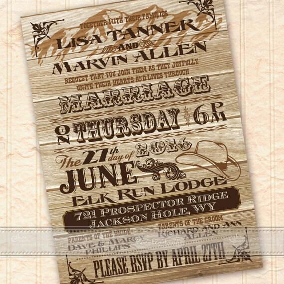 wedding invitations, wedding invitations with rsvp, ranch wedding invitations, cowboy and cowgirl wedding invitations, ranch wedding, IN458