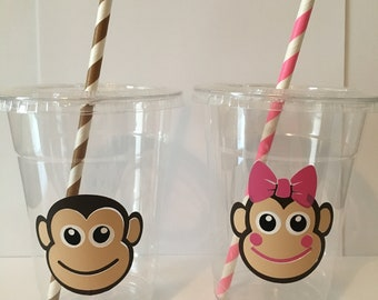 Monkey Party Cups