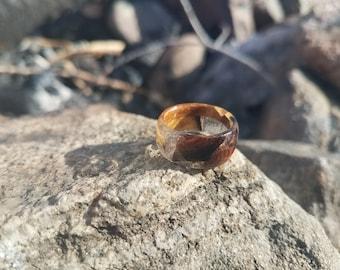 Size 5 1/2 Epoxy Burrell Ring