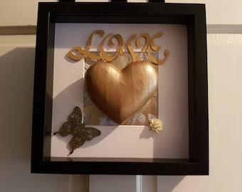 Love, Valentine Frame