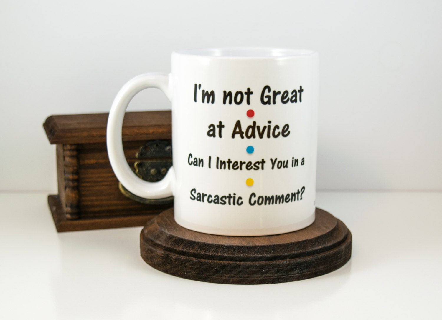 Brother Bhaiya Bhai Sister Source Gift For Best Friend I M Not Great At Advice Coffee Mug Chandler