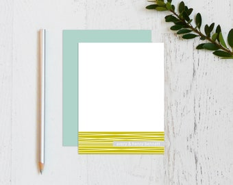 Personalized Couple Stationary Set - Personalized Stationary - Personalized Stationery - Personalized Note Cards - thank you note / twine