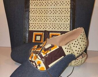 B&D Handbag and Shoe Set