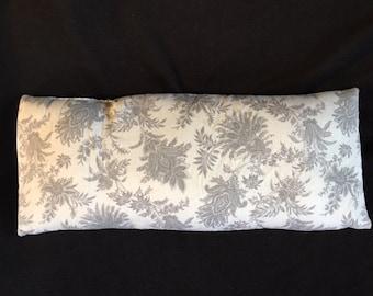 Grey Paisley Eye Pillow