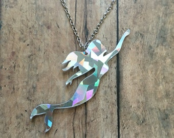 Gorgeous mermaid necklace