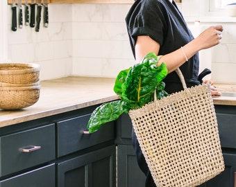 Isla Tote-Beach Bag-Summer Bag-Summer Tote-Beach Tote-Market Bag-Grocery bag-Basket bag-Straw bag-Woven bag-Woven tote-Summer Basket Bag