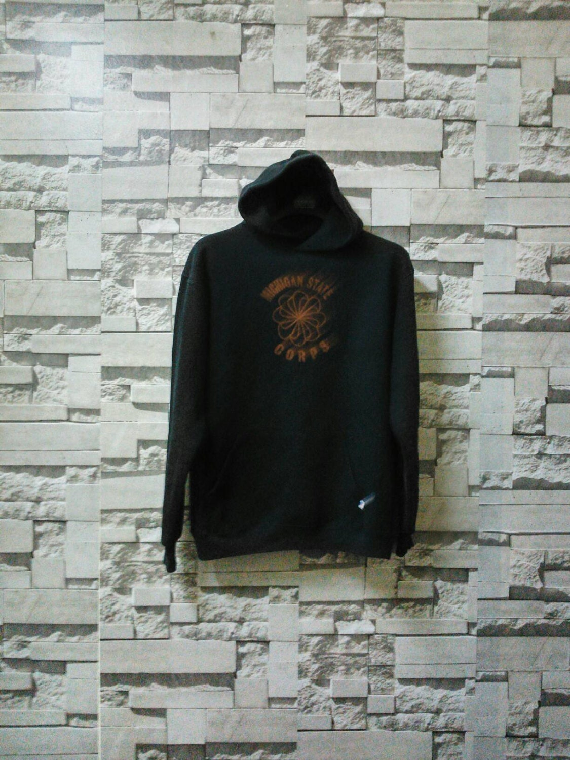Vintage Champion sweatshirt hoodie made in usa spellout supreme adidas nike guess polo ralph lauren hipster ooq9gIm
