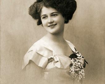 Woman portrait.  Austria, 1910