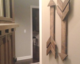 Rustic Wooden Arrow, Gallery Wall Arrow