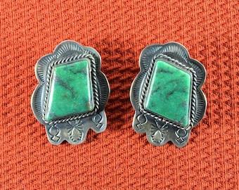 Native American Navajo Turquoise Earrings