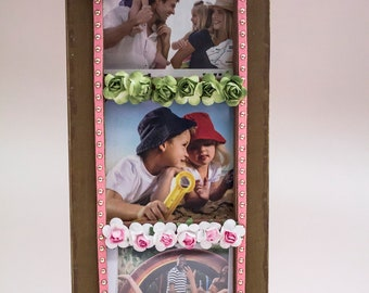 Family FRAME for your memories of three family photos,Wall Art,Home DECOR