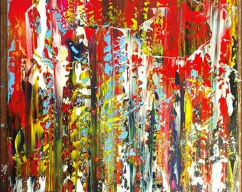 Momma's Gonna Give You Love Abstract Painting