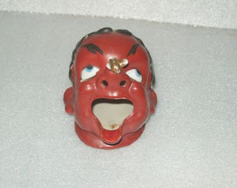 Ashtray- Post WWII Figural Open-Mouth Ash Receivers