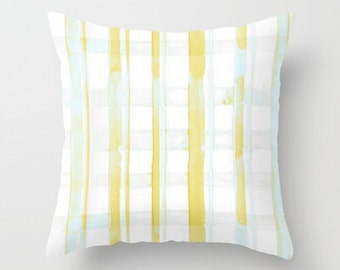 Plaid Pillow, Decorative Pillow, Farmhouse Pillow, Plaid Accent Pillow, Plaid Pillow Nursery, Throw Pillows, Accent Pillows, Home Decor