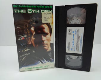The 6th Day VHS Arnold Schwarzenegger